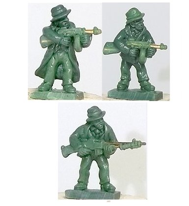 Sculpting by Michael Lovejoy - 15mm wargames figures and