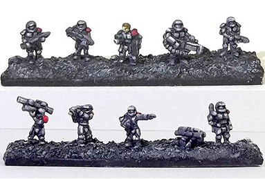 Sculpting by Michael Lovejoy - 6mm wargames figures and